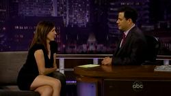Molly Shannon Upskirt Leggy Jimmy Kimmel Live