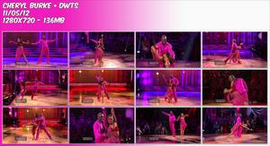 Cheryl Burke ~ DWTS 11-5-2012