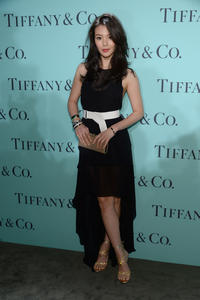 Kurara Chibana attends the Tiffany &amp;amp; Co. Blue Book Ball at Rockefeller Center in New York