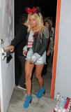 Ashley Tisdale | Leaving Perez Hilton's Birthday Party in Hollywood | March 24 | 17 pics